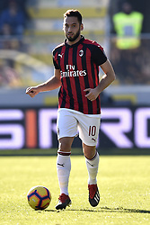 December 26, 2018 - Frosinone, Frosinone, Italy - Hakan Calhanoglu of Milan during the Serie A match between Frosinone and AC Milan at Stadio Benito Stirpe, Frosinone, Italy on 26 December 2018. (Credit Image: © Giuseppe Maffia/NurPhoto via ZUMA Press)