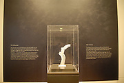 Rijksmuseum Amsterdam  National Museum Amsterdam<br /> <br /> Kamer met voorwerpen die naar aanleiding van de moord opTheo van Gogh zijn tentoongesteld met o.a. De Schreeuw (stansbeeld) / The Room with attributes of the assasination of Theo van Gogh (items left on the place where he as murderd) and also the Statue
