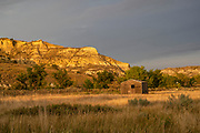 Photographs at sunset from Medora, ND USA