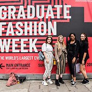 Attendees at Graduate Fashion Week 2019 - Day Two