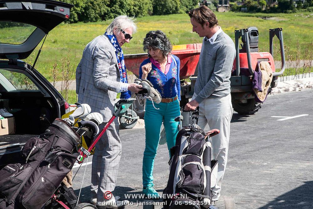 NLD/Amsterdam/20140517 - Don golftoernooi 2014, Freek de Jonge en Hella de Jonge-Asser