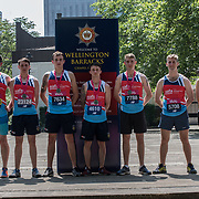 ssafa partiplate the Vitality London 10000 running for the Armed Forces Charity on 28 May 2018, London, UK.