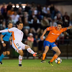 BRISBANE, AUSTRALIA - JULY 25:  during the Friendly match between Brisbane Roar FC and Lions FC on July 25, 2017 in Brisbane, Australia. (Photo by Brisbane Roar / Patrick Kearney)