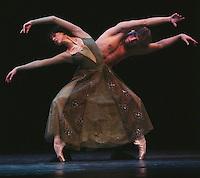 "Nina Ananiashvili and Company on her tour to the UK in 2004.<br /> ""Green"", choreographed by Stanton Welch<br /> Dancers: Nina Ananiashvili, Dmitri Belogolovtsev"