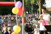 Nederland, Nijmegen, Groesbeek, 18-7-2013<br /> 4Daagse, Dag van Elst, betuwe. De vierdaagse is het grootste wandelevenement ter wereld. <br /> Foto: Flip Franssen