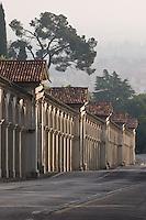 PORTICI DEL SANTUARIO DELLA MADONNA DI MONTE BERICO (architetto Francesco Muttoni 1746), VICENZA, VENETO, ITALIA
