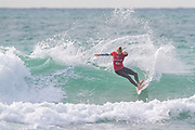 Leon Glatzer (GER) Winner of Final of Quicksilver Pro Surfing Championships at Boardmasters 2019 at Fistral Beach, Newquay, Cornwall, United Kingdom on 11 August 2019.