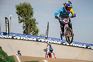 #100 (PAJON Mariana) COL at Round 1 of the 2020 UCI BMX Supercross World Cup in Shepparton, Australia