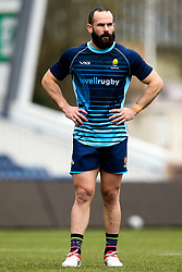 Jono Lance of Worcester Warriors during training ahead of the Premiership Rugby fixture against Bristol Bears - Mandatory by-line: Robbie Stephenson/JMP - 21/03/2019 - RUGBY - Sixways Stadium - Worcester, United Kingdom - Worcester Warriors Training