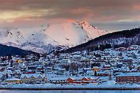 Ornes, north of the Arctic Circle, in Northern Norway.