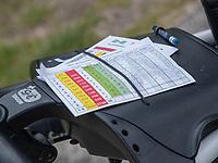 AMSTERDAM   - scorekaart.  Golf, regels,    COPYRIGHT KOEN SUYK