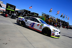 September 14, 2018 - Las Vegas, NV, U.S. - LAS VEGAS, NV - SEPTEMBER 14: Kevin Harvick (4) Stewart-Haas Racing Ford Fusion during practice for the South Point 400 Monster Energy NASCAR Cup Series Playoff Race on September 14, 2018 at Las Vegas Motor Speedway in Las Vegas, NV. (Photo by David Griffin/Icon Sportswire) (Credit Image: © David Griffin/Icon SMI via ZUMA Press)