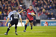Mark Hammett, Crusaders v Sharks, Super 12 rugby union, Jade Stadium, Christchurch, 28 April 2001. ©Copyright Photo: Sandra Teddy / www.photosport.nz