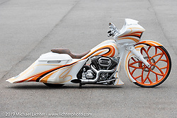 The Chopp Shop's Shannon Davidson's custom 2015 Harley-Davidson Road Glide with Metalsport Wheels owned by Emmitt Shegog of Mississippi. Daytona Beach Bike Week, FL. USA. Tuesday, March 12, 2019. Photography ©2019 Michael Lichter.