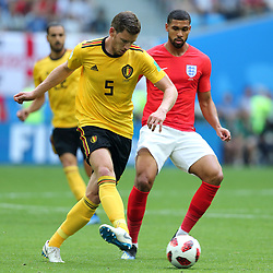 July 14, 2018 - St. Petersburg, Russia - July 14, 2018, St. Petersburg, FIFA World Cup 2018, Football match for the third place in the World Cup. Football match of Belgium - England at the stadium of St. Petersburg. Player of the national team Jan Vertonghen  (Credit Image: © Russian Look via ZUMA Wire)