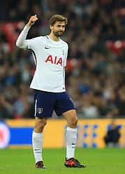 25 October 2017 -  Carabao Cup (4th Round) - Tottenham Hotspur v West Ham United - Fernando Llorente of Tottenham Hotspur gives a thumbs up - Photo: Marc Atkins/Offside