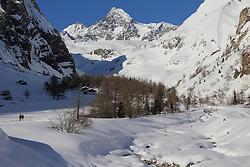 01.03.2013, Lucknerhaus, Kals, AUT, Winterlandschaft im Kalser Koednitztal, im Bild verschneite Almen am Fusse des Grossglockner (3.798 m) // snowy mountain pastures at the foot of the Grossglockner (3,798 m) at the Kalser Koednitztal, Kals, Austria on 2013/03/01. EXPA Pictures © 2013, PhotoCredit: EXPA/ Peter Gruber
