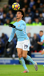 Leroy Sane of Manchester City - Mandatory by-line: Alex James/JMP - 18/11/2017 - FOOTBALL - King Power Stadium - Leicester, England - Leicester City v Manchester City - Premier League