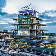 Sunrise on the morning of the 100th running of the Indianapolis 500