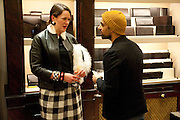 HOLLY FULTON; DAL CHODHO; , Smythson Royal Wedding exhibition preview. Smythson together with Janice Blackburn has commisioned 5 artist designers to create their own interpretations of  Royal wedding memorabilia. Smythson. New Bond St. London. 5 April 2011.  -DO NOT ARCHIVE-© Copyright Photograph by Dafydd Jones. 248 Clapham Rd. London SW9 0PZ. Tel 0207 820 0771. www.dafjones.com.
