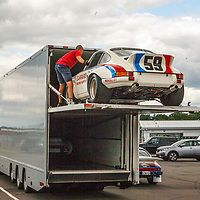 #59 911 Carrera RSR – winner 1973 Daytona 24H – Hurley Haywood/Peter Gregg on 18/07/2019, Rennsport Collective, Donington-Park, UK