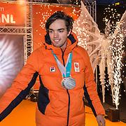 NLD/Amsterdam/20180226 - Thuiskomst TeamNL, Patrick Roest