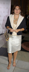 ALEXANDRA SHULMAN at the 2004 British Fashion Awards held at Thhe V&A museum, London on 2nd November 2004.<br /><br />NON EXCLUSIVE - WORLD RIGHTS