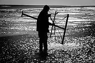 Shrimp netting on the Norfolk coast