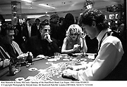 Ron Manzella & Jenny McCauly. Opening of the Hard Rock Hotel. Las Vegas. 1995. Film 95100f35<br />© Copyright Photograph by Dafydd Jones<br />66 Stockwell Park Rd. London SW9 0DA<br />Tel 0171 733 0108