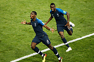 Paul Pogba of France celebrates after his goal during the 2018 FIFA World Cup Russia, final football match between France and Croatia on July 15, 2018 at Luzhniki Stadium in Moscow, Russia - Photo Tarso Sarraf / FramePhoto / ProSportsImages / DPPI