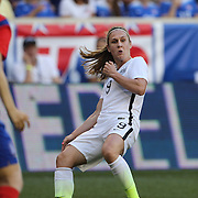 Heather O'Reilly, U.S. Women's National Team, in action during the U.S. Women's National Team Vs Korean Republic, International Soccer Friendly in preparation for the FIFA Women's World Cup Canada 2015. Red Bull Arena, Harrison, New Jersey. USA. 30th May 2015. Photo Tim Clayton