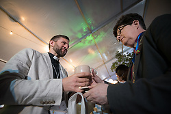 """16 May 2017, Windhoek, Namibia: Presiding bishop Elizabeth A. Eaton from the Evangelical Lutheran Church in America receives Holy Communion. As the Twelfth Assembly of the Lutheran World Federation is coming to an end, a closing worship service celebrates the LWF Communion and a successful Assembly, and installing the newly elected LWF Council and President. The Twelfth Assembly of the Lutheran World Federation gathers in Windhoek, Namibia, on 10-16 May 2017, under the theme """"Liberated by God's Grace"""", bringing together some 800 delegates and participants from 145 member churches in 98 countries."""