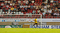 Photo: Alan Crowhurst.<br />Leyton Orient v Bristol Rovers. Coca Cola League 2.<br />03/09/2005. Junior Agogo rounds the keeper and scores into an empty net for Rovers  unchallenged.