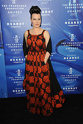 June 14, 2017 - New York, NY, USA - June 14, 2017  New York City..Debi Mazar attending the 2017 Fragrance Foundation Awards at Alice Tully Hall on June 14, 2017 in New York City. (Credit Image: © Kristin Callahan/Ace Pictures via ZUMA Press)