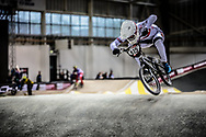 #515 (SHARROCK Paddy) GBR during practice at the 2019 UCI BMX Supercross World Cup in Manchester, Great Britain