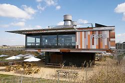 RSPB visitors' centre, Rainham Marshes Nature Reserve, Essex UK