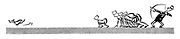 (An archer shooting an arrow and sprinters chasing a dog)