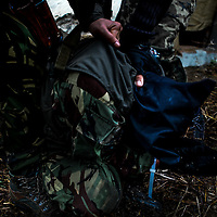 A workshop designed to prepare less experienced photographers for the dangers they may face in hostile environments including war zones. The weeklong course teaches everything from Battle Field First Aid Drills, IED and Mines awareness through to editing and filing on the move as well as ethical behavior, report building and self-sufficiency in the field. The instructors are a mix of photojournalists and military personal with more than 40 years front line experience. Mixing group discussions, lectures, practical demonstrations, and realistic scenarios, the student's progress rapidly from a theoretical learning environment to a full on simulated conflict zone.