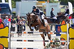 Klompmaker Hester (NED) - Biscayo<br /> KWPN Paardendagen - Ermelo 2012<br /> © Dirk Caremans