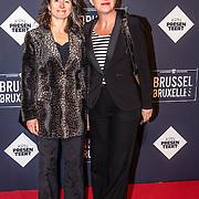 NLD/Amsterdam/20170119 - Premiere Brussel, Marike Mingelen - van den Berg en ..........