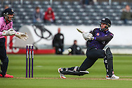 Geraint Jones of Gloucestershire during the NatWest T20 Blast South Group match between Gloucestershire County Cricket Club and Middlesex County Cricket Club at the Bristol County Ground, Bristol, United Kingdom on 15 May 2015. Photo by Shane Healey.