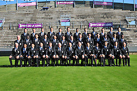 Equipe Angers - 10.09.2014 - Angers - Photo Officielle - Ligue 2<br /> Photo: Philippe Le Brech / Icon Sport