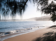 Surf on Hanalei Bay, Hanalei, Kaua'i, Hawai'i