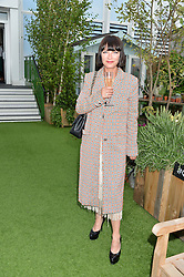 COLLETTE COOPER at a vintage fashion pop-up evening hosted by Dawn O'Porter at The Gardening Society, John Lewis, Oxford Street on 27th July 2016.