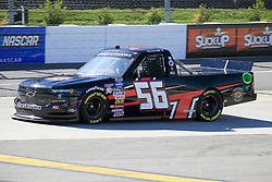 March 23, 2019 - Martinsville, VA, U.S. - MARTINSVILLE, VA - MARCH 23:   #56: Timmy Hill, Hill Motorsports, Chevrolet Silverado Southern Freight Services during qualifying for the NASCAR Gander Outdoors Truck Series TruNorth Global 250 race on March 23, 2019 at the Martinsville Speedway in Martinsville, VA.  (Photo by David J. Griffin/Icon Sportswire) (Credit Image: © David J. Griffin/Icon SMI via ZUMA Press)