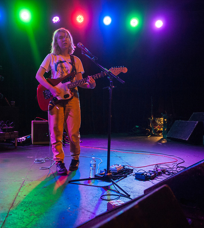 Lindsey Jordan of Snail Mail performing at the Glass House Pomona June 22, 2017.