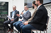 Craig Schedler from Northwestern Mutual at the Wisconsin Entrepreneurship Conference at Venue 42 in Milwaukee, Wisconsin, Tuesday, June 4, 2019.