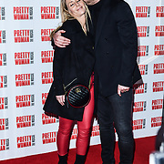 Danny Dyer and Joanne Mas attend Pretty Woman The Musical press night at Piccadilly Theatre on 2nd March 2020, London, UK.