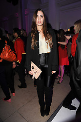 AMBER LE BON at a party to celebrate the Mulberry Autumn Winter 2010 collection held at The Orangery, Kensington Palace, London on 21st February 2010.