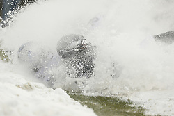 Philadelphia Eagles wide receiver DeSean Jackson #10 falls into the snow after attempting to catch a pass during the NFL game between the Detroit Lions and the Philadelphia Eagles on Sunday, December 8th 2013 in Philadelphia. The Eagles won 34-20. (Photo by Brian Garfinkel)